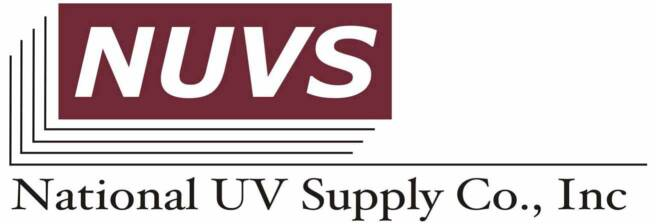 National UV Supply Co. Inc. logo: UV Coater