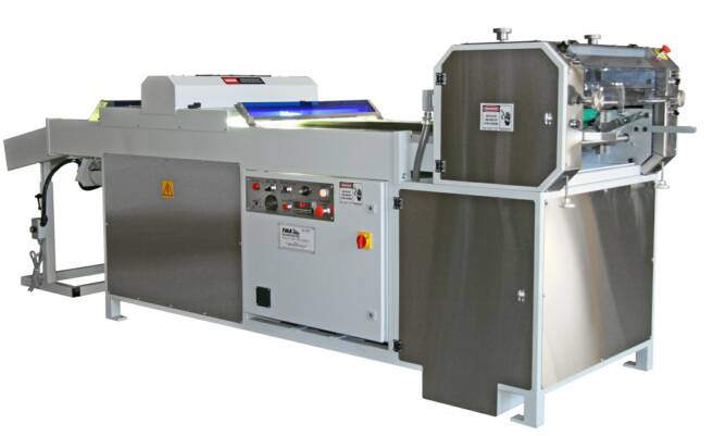 Industrial UV roller coater